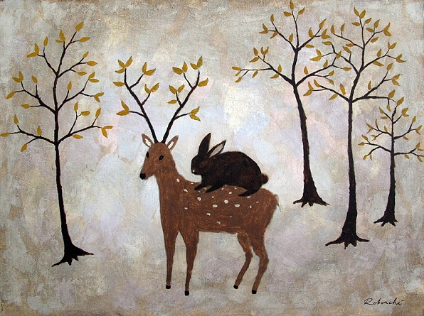 Rebecca Rebouche The Bunny Deer