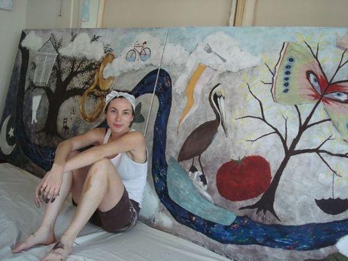 Artist, Rebecca Rebouche