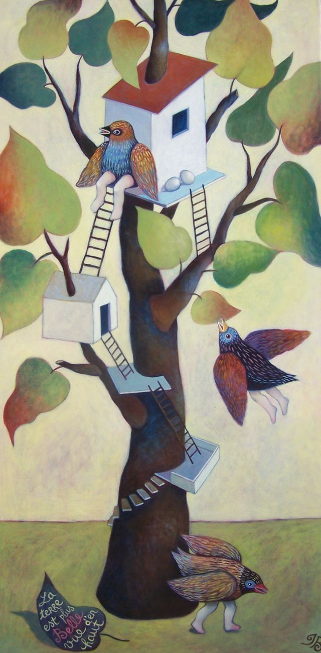 "The Tree House 15""x30"""