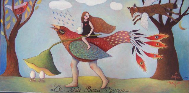 """Le Tres Beau Voyage 12""""x30"""""""