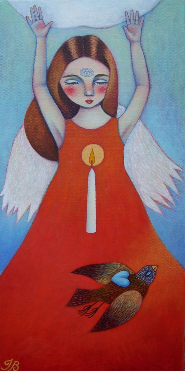 "Red Angel 10""x20"""