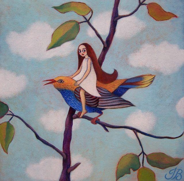 "Tree Fairy 8""x8"""